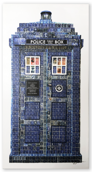 Police Call Box Canvas Replica